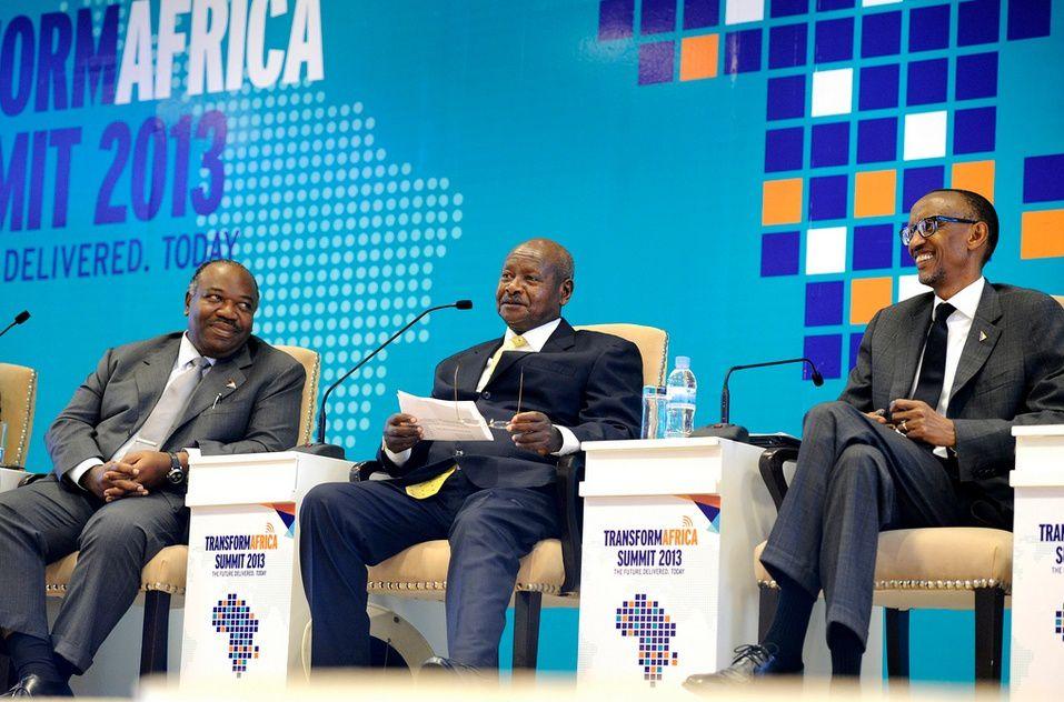 Transform Africa à Kigali:  Ali Bongo Ondimba et le Gabon numérique
