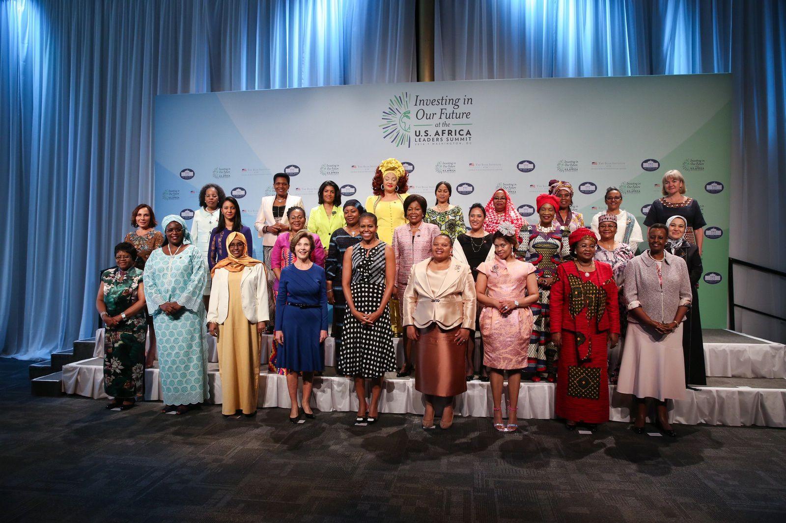 Sommet États-Unis/Afrique: Les Premières Dames imposent leur vision