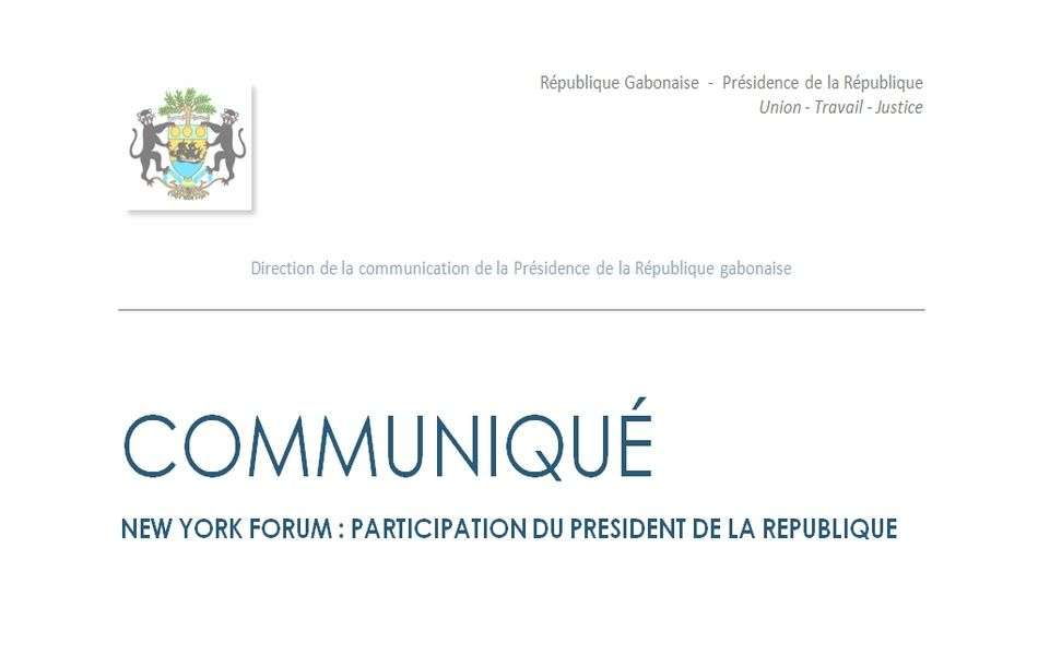 New York Forum: Participation du Président de la République