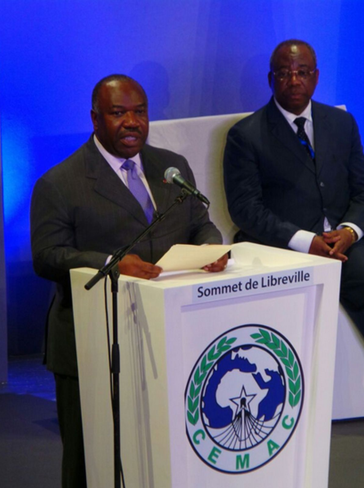 12e Session Ordinaire de la Conférence des Chefs d'Etat CEMAC : Discours du Président Ali Bongo Ondimba