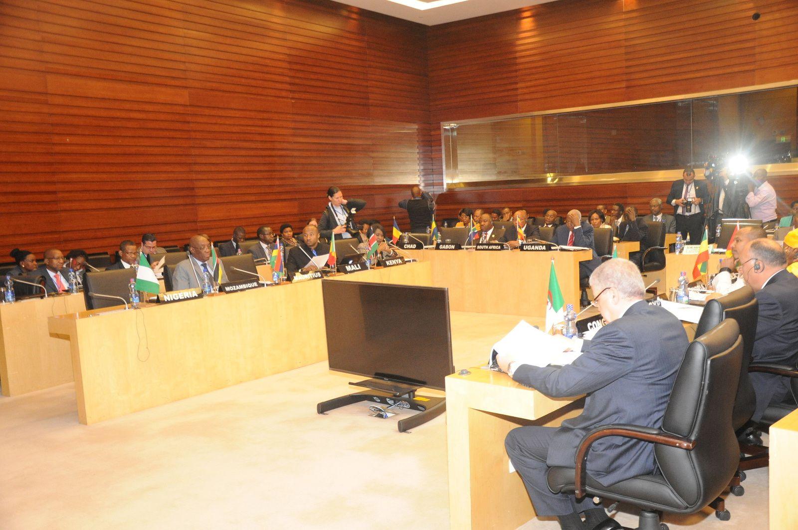 Réunion du Comité des chefs d'Etat et de gouvernement africains sur les changements climatiques