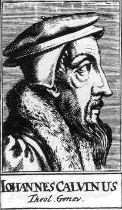 Jean Calvin dirigea la République de Genève et fut le guide spirituel et politique du Parti huguenot français