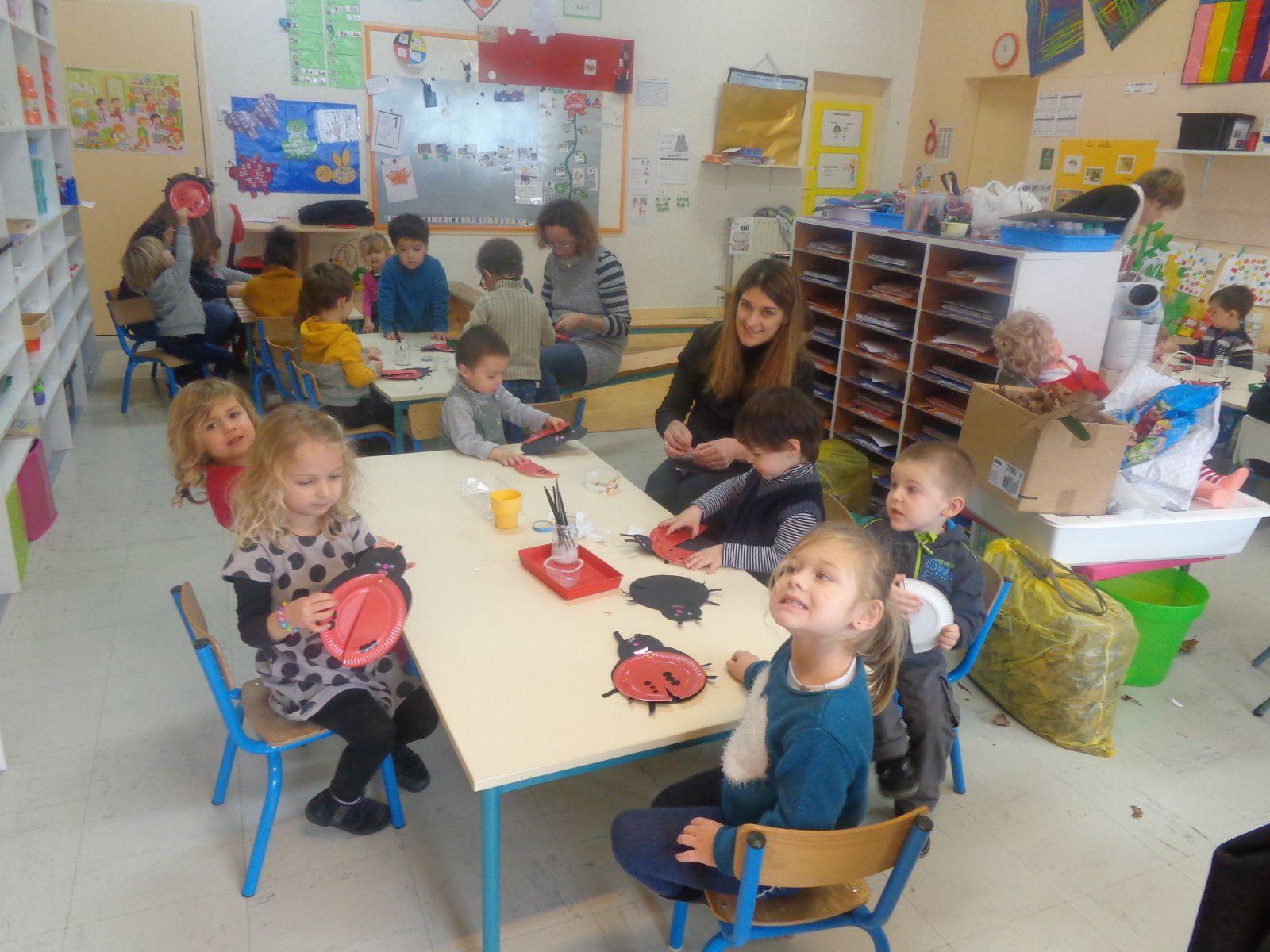 Dans la classe de Laurence