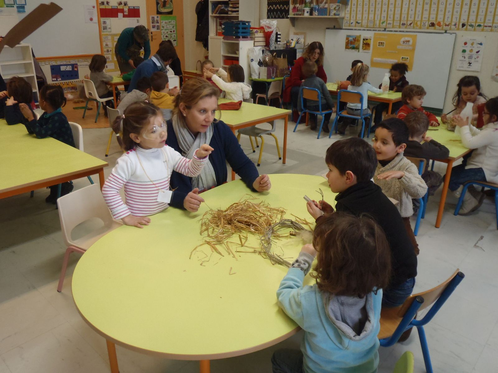 Dans la classe de Sylvie, on attend les petites bêtes