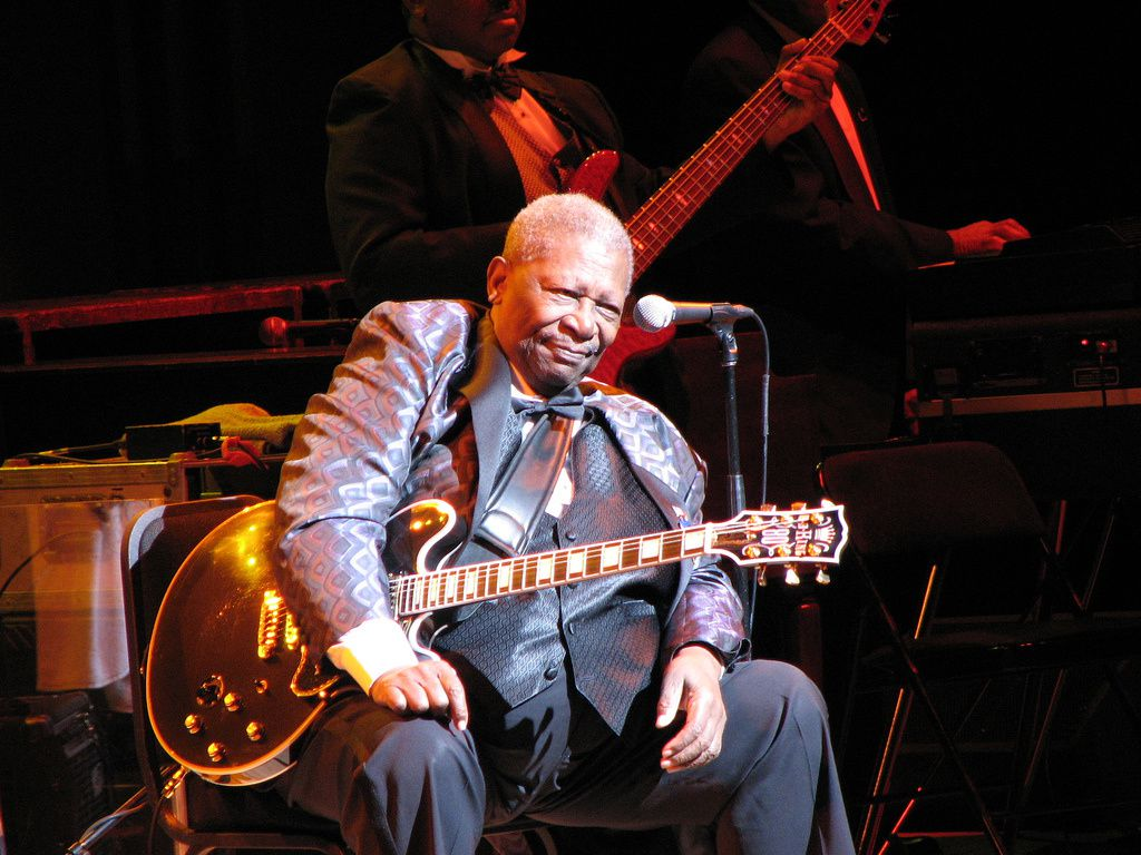 BB King in the movies.