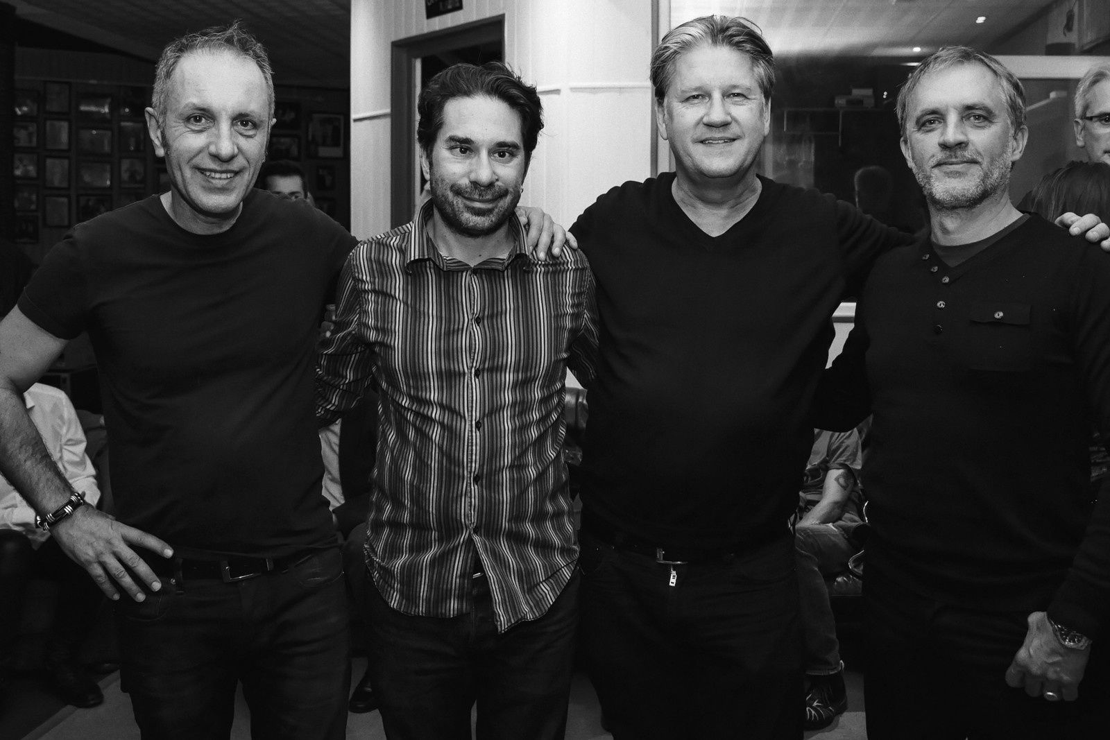 Christophe Gauthier, Julien Tekeyan, Cyril Morin, William Lecomte. Crédit : Benoît Billard
