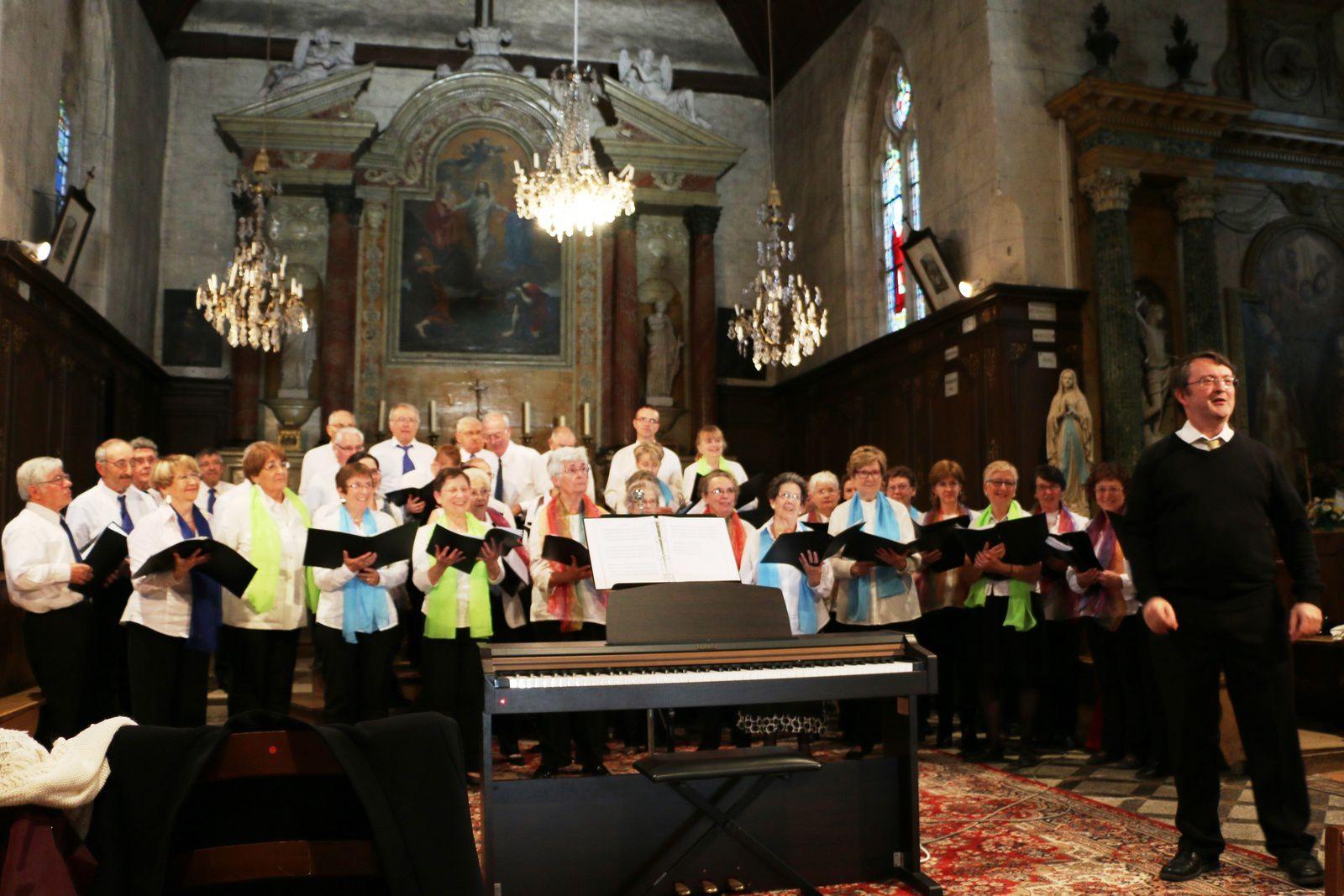 Photo : concert hier soir à l'église de Marboué