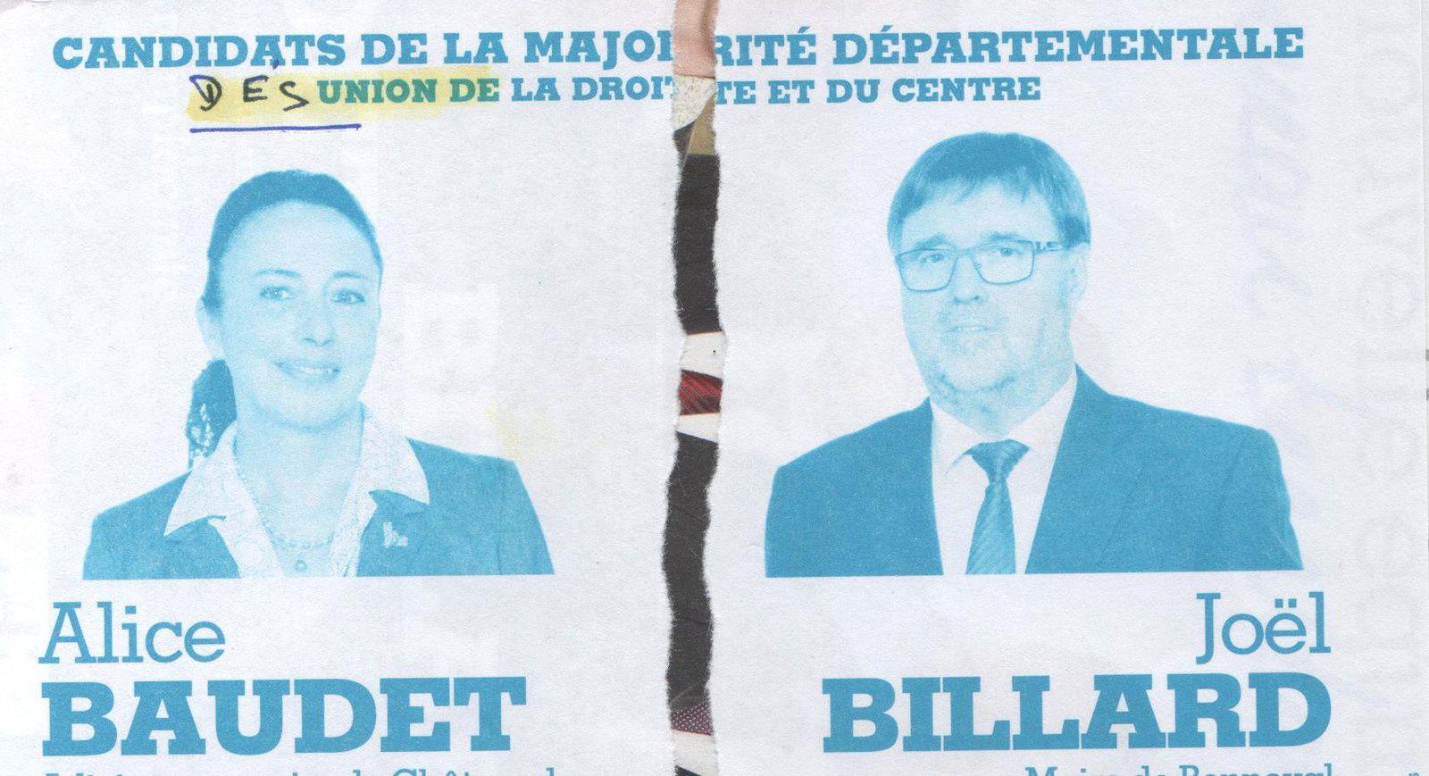 Elections Départementales : Le Binôme Bonneval /Châteaudun, déjà la séparation !