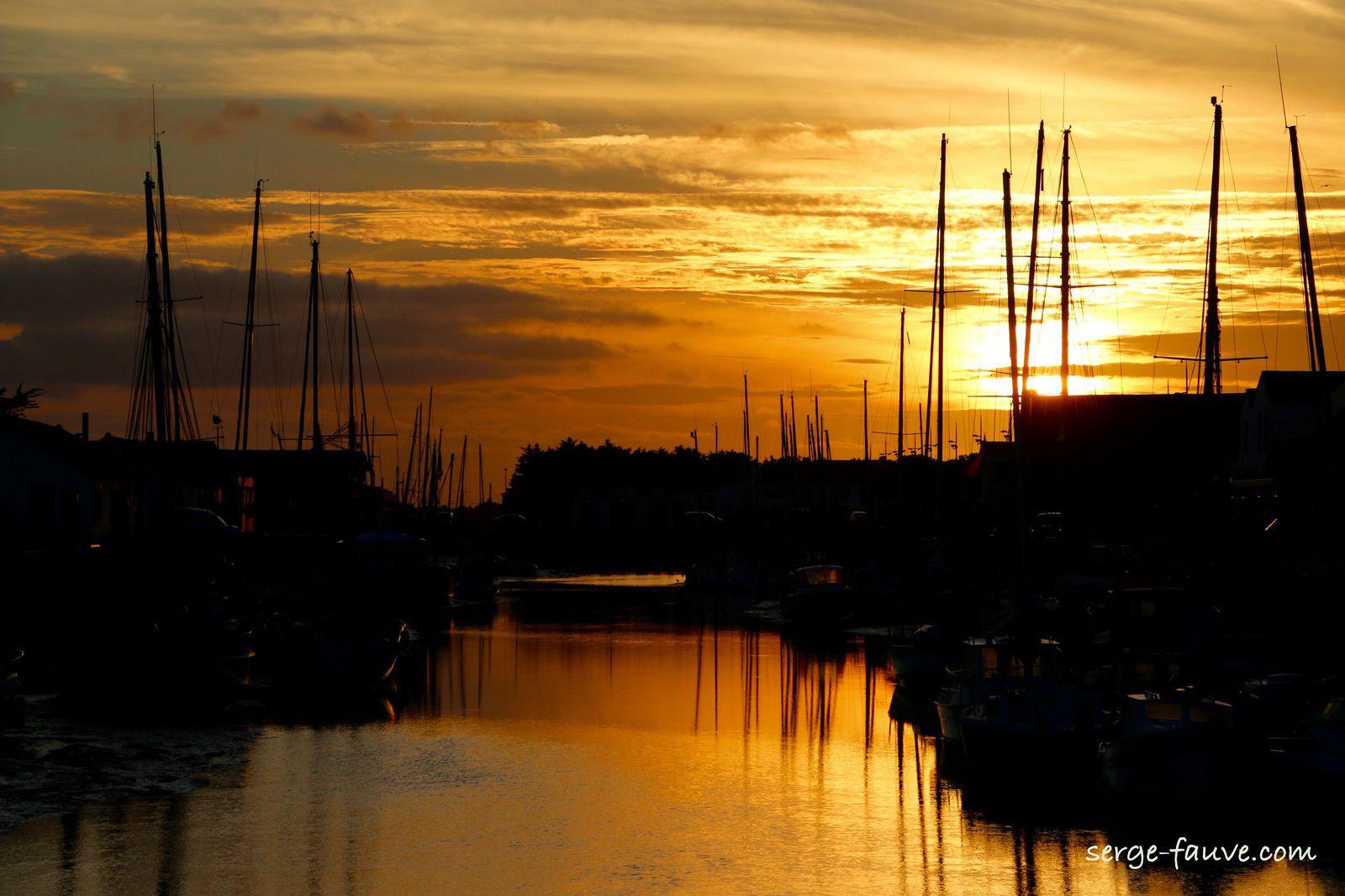 Couchés de soleil sur Noirmoutier