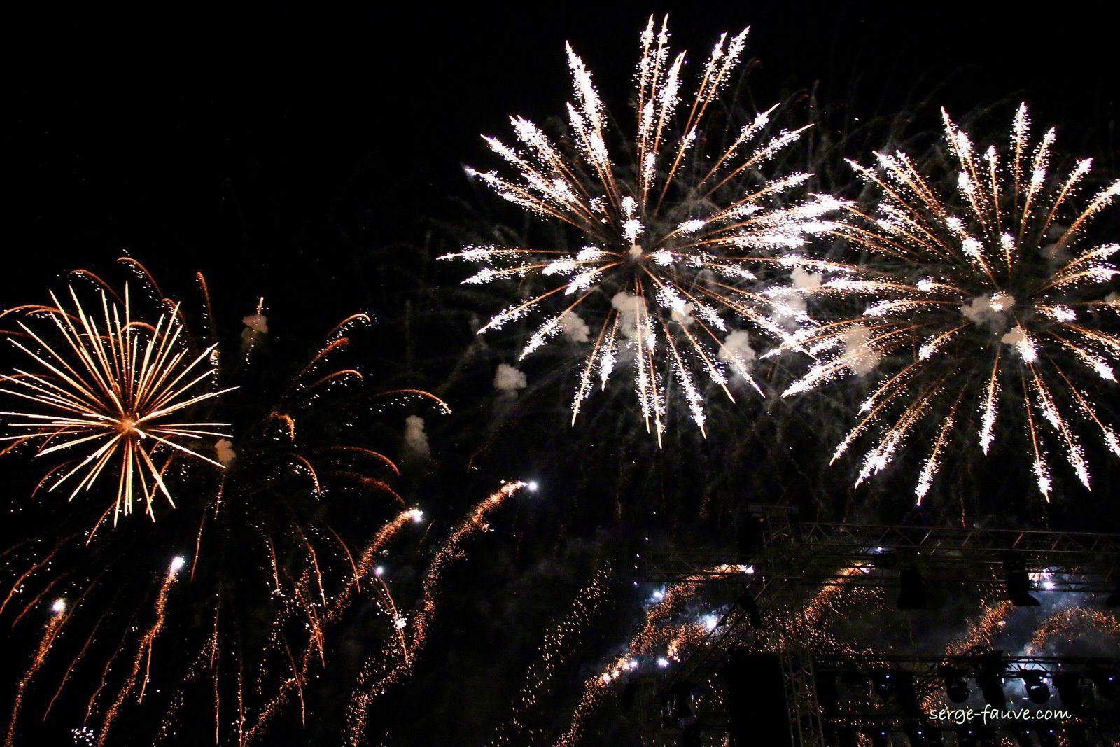 Les fêtes de la Loire à Orléans et le super feu d'artifice.