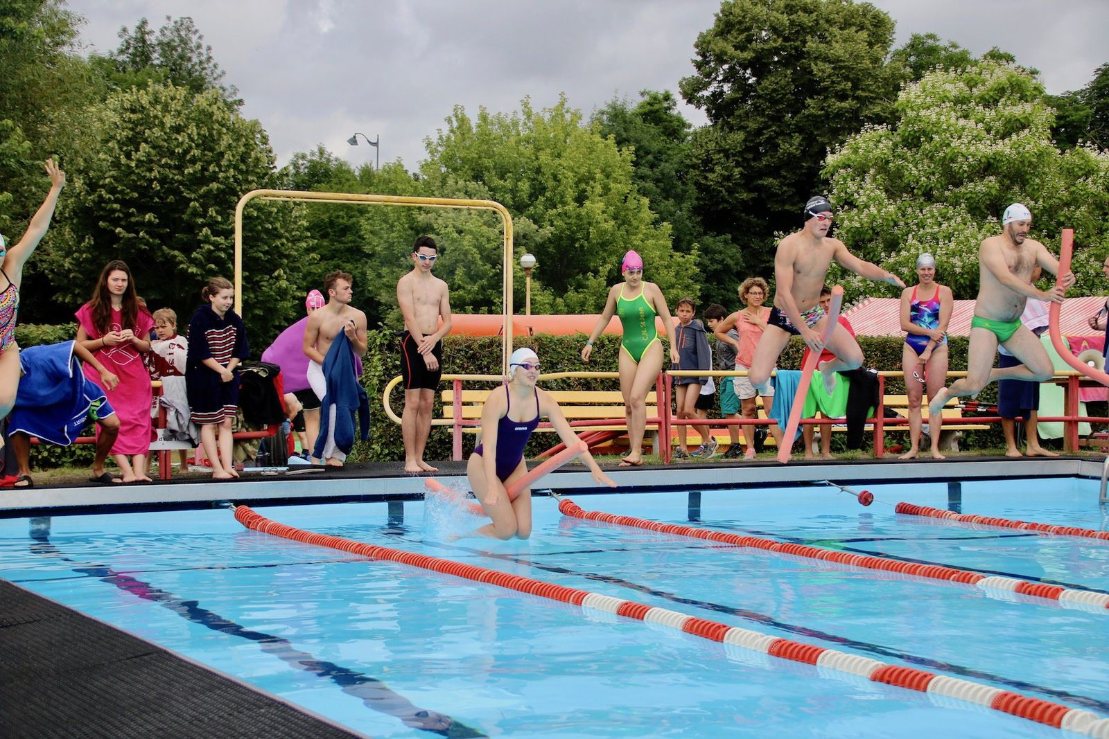 80 ans de la piscine de Marboué