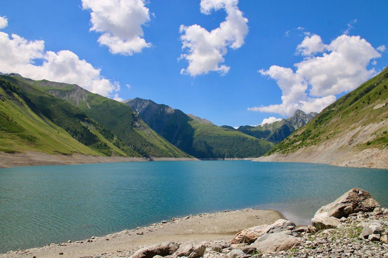 Alpes moto, sublimes paysages