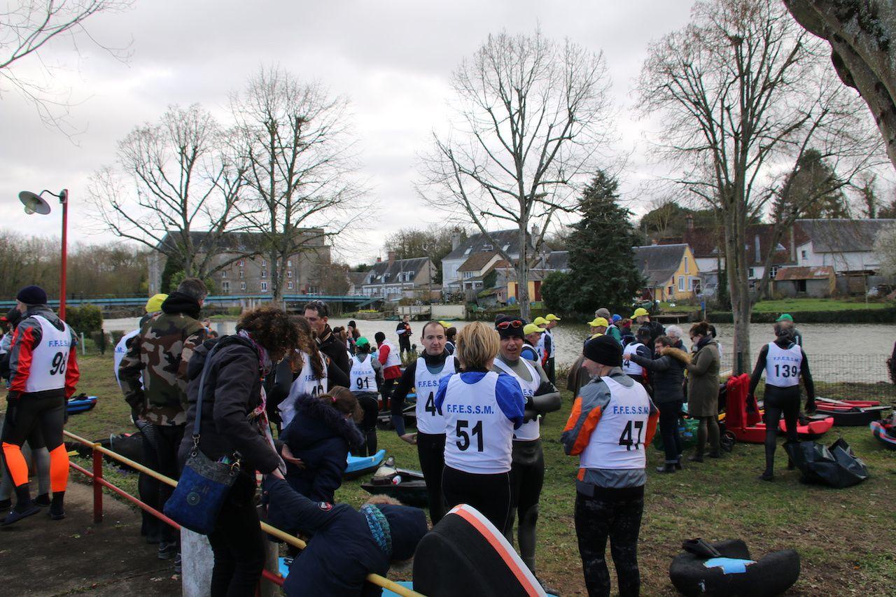 Départ de la 42e descente du Loir ce dimanche 10 mars 2019