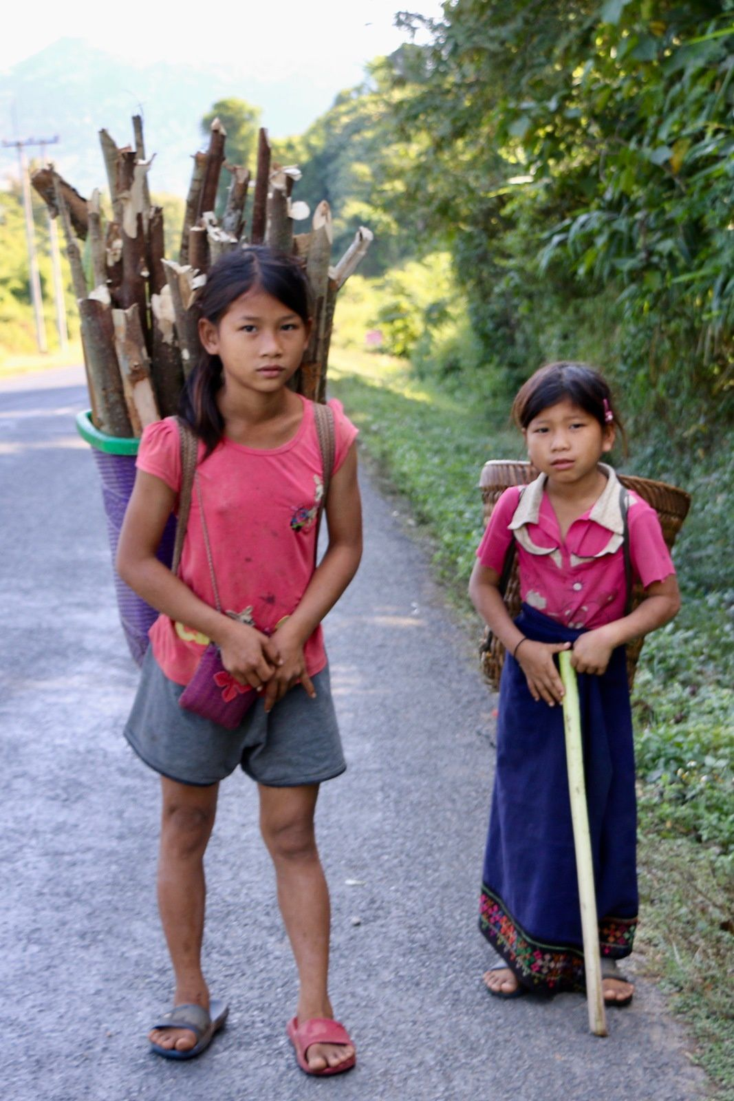 """""""corvée de bois"""" Laos, 19 novembre 2019"""