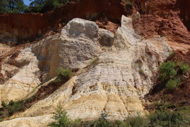 Découvrez le magnifique  Colorado de Rustrel en Provence