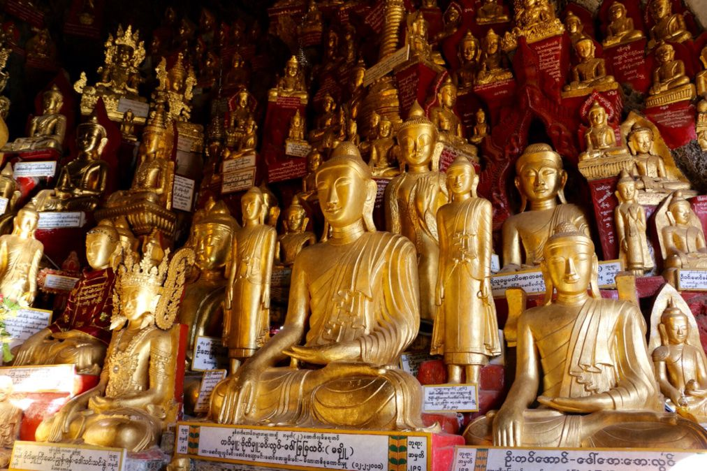 Birmanie, 5ème jour, étape semi montagnarde