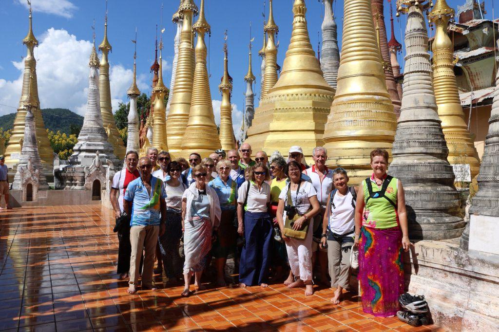 Birmanie 6 étape, Nyaung Shwe / Indein et retour