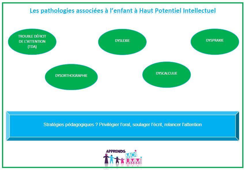 Les pathologies associées à l'enfant à Haut Potentiel Intellectuel