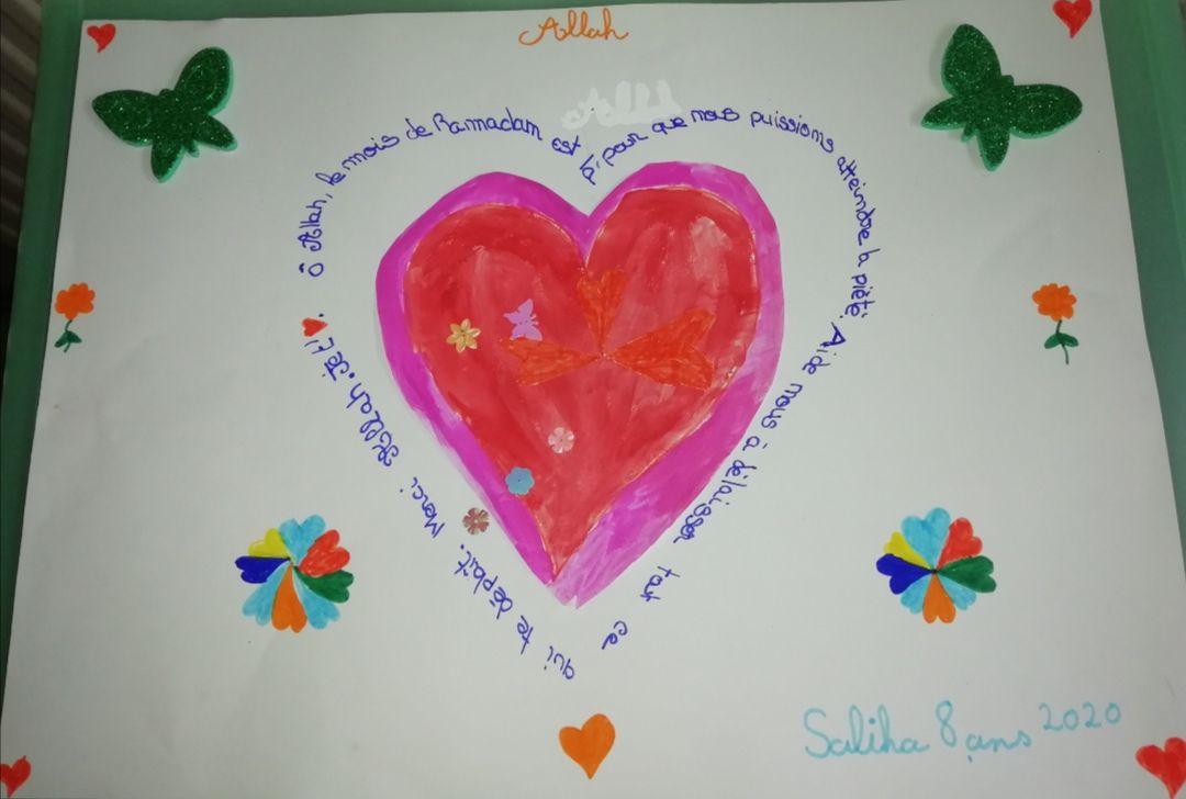 Participation 12 : Saliha, 8 ans