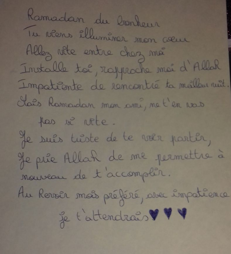Participation 17 : Nayla, 8 ans