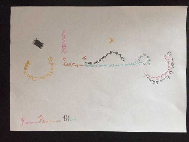 Participation 55 : Amina, 10 ans