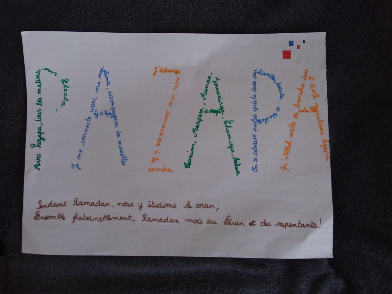Participation 73 : Roumayssa, 8 ans