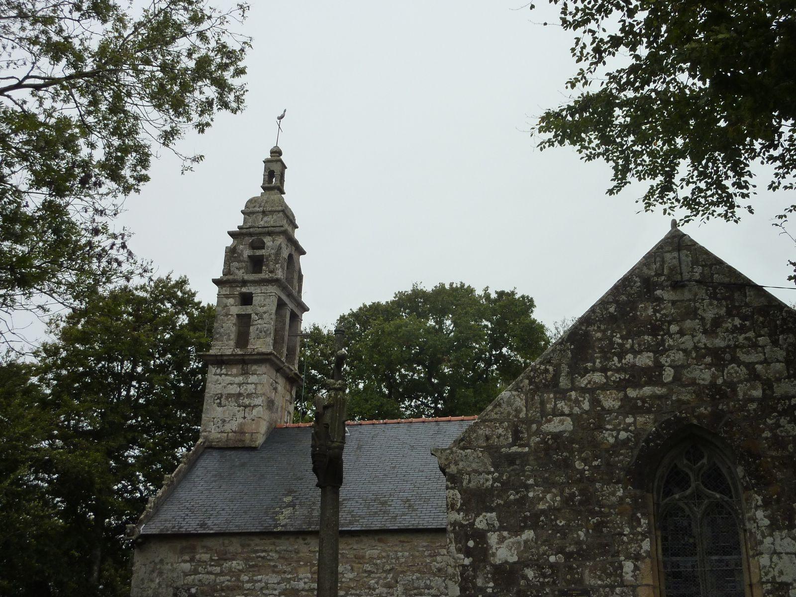 Rentrons par la Chapelle St Claude