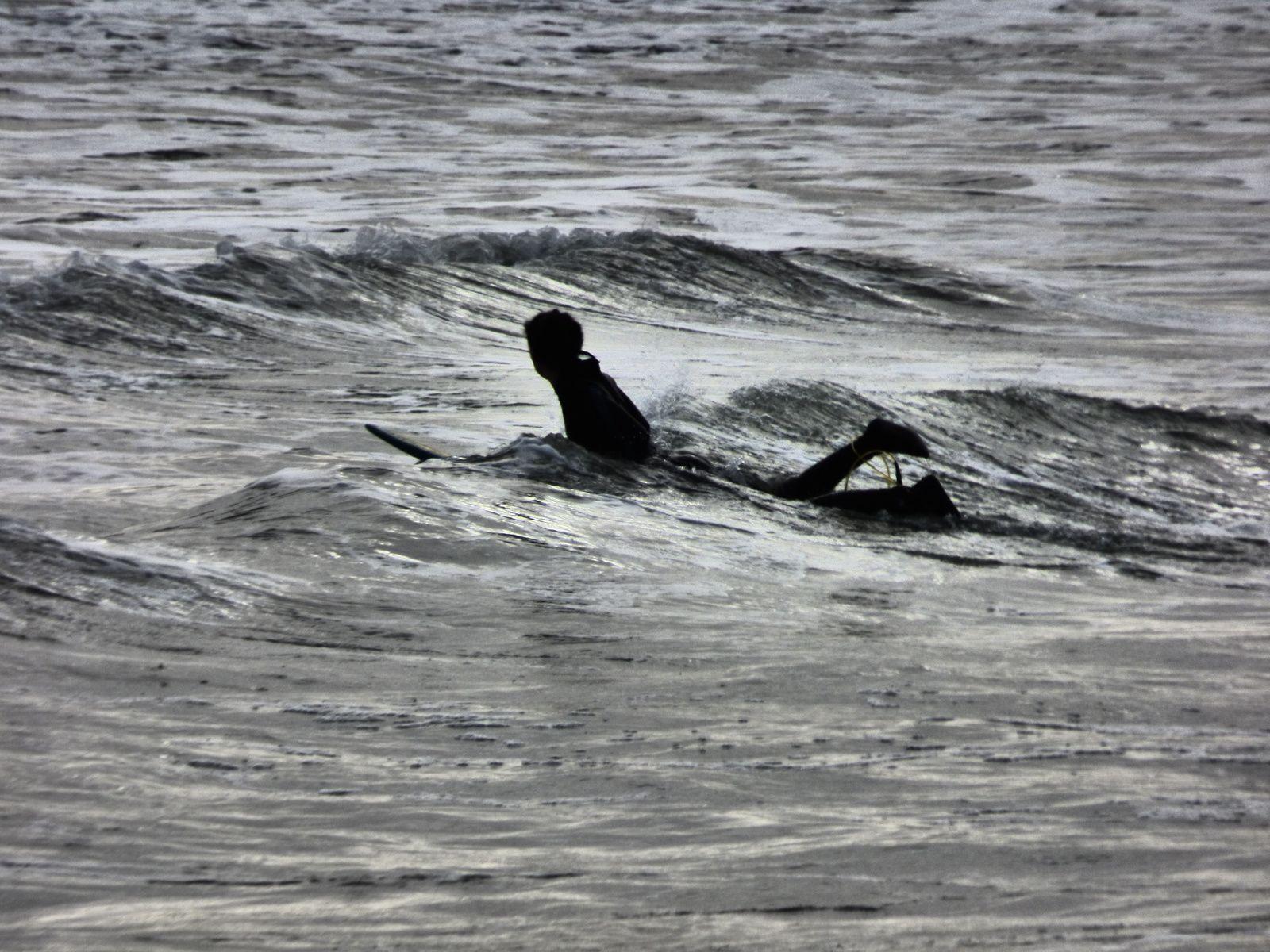 Body-surf à Guisseny