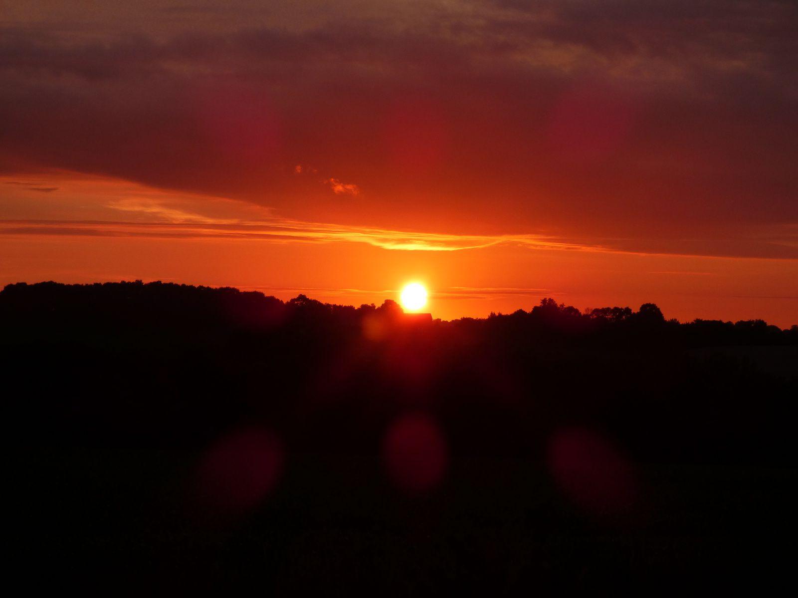 Variations sur un coucher de soleil