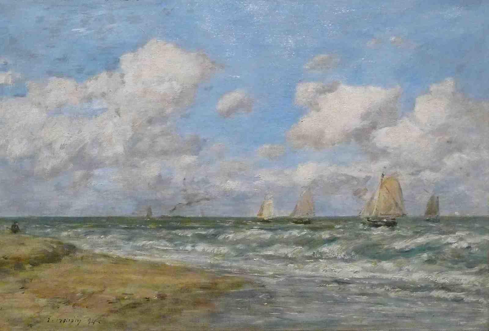 Le peintre des ciels