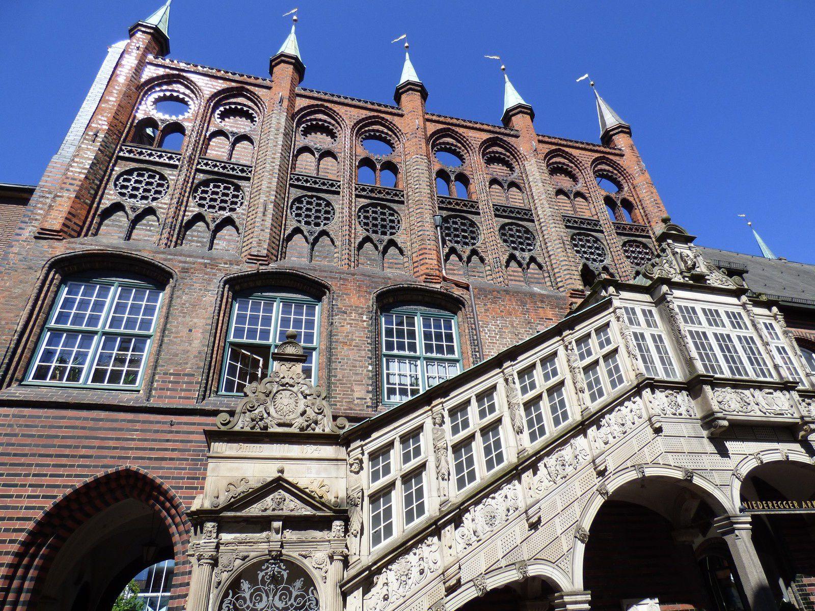Lübeck et sa baie