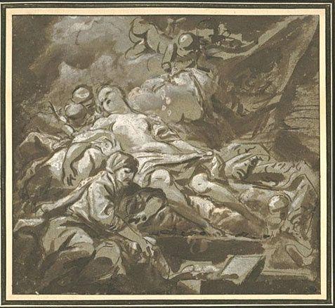 Danaé - JB Deshays - 1729 1765 - Le Louvre