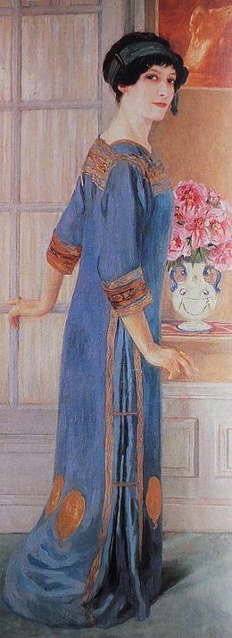 Clémentine-Hélène Dufau - Portrait de l'Artiste