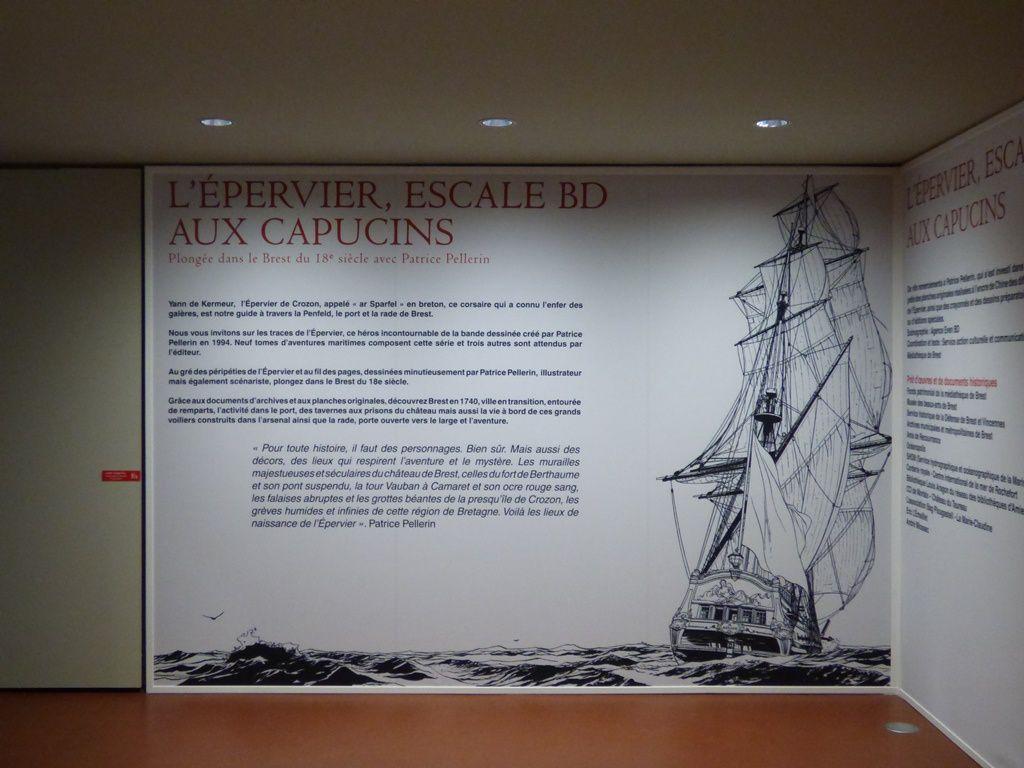 Allons aux Capucins sur les traces de l'Epervier