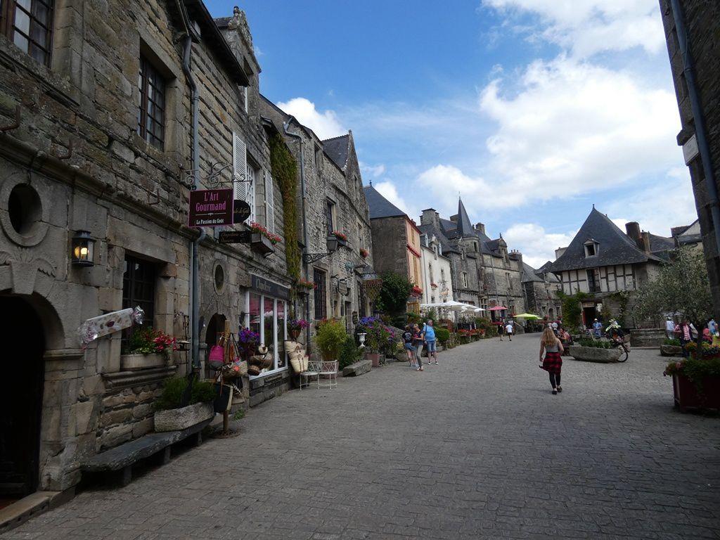 Un petit tour à Rochefort en terre