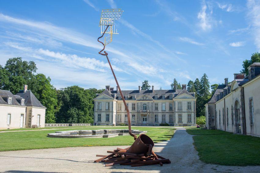 Une visite au chateau de Kerguehennec