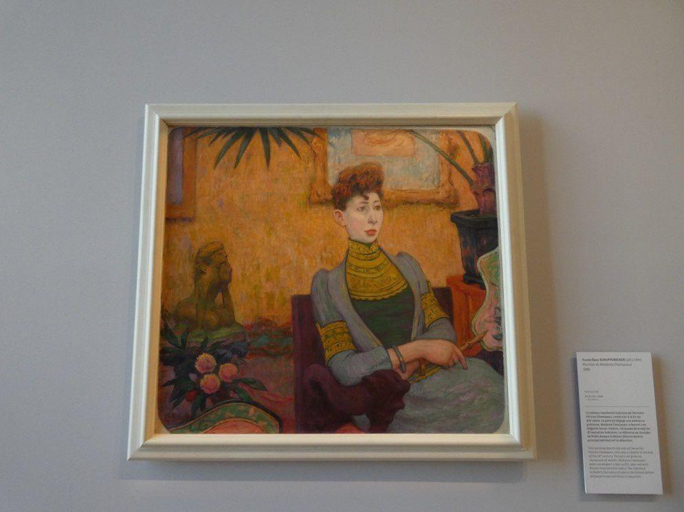 Portrait de Madame Champsaur d'Emile Schuffenecker