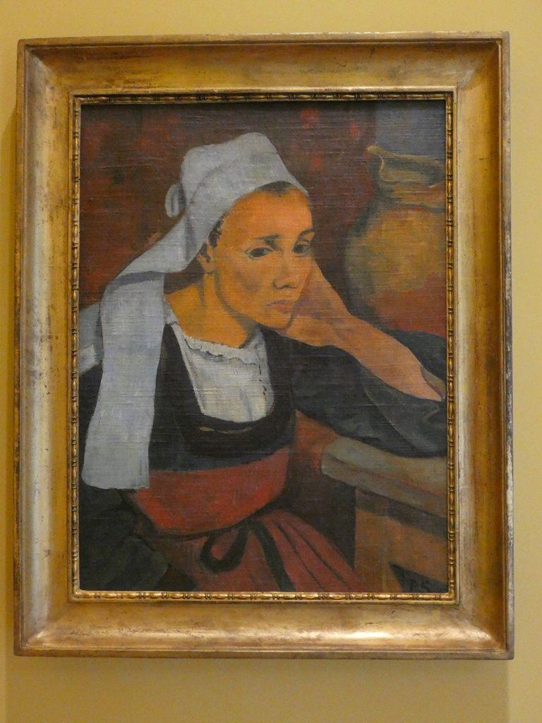 Portrait de Marie Lagadu de Paul Sérusier