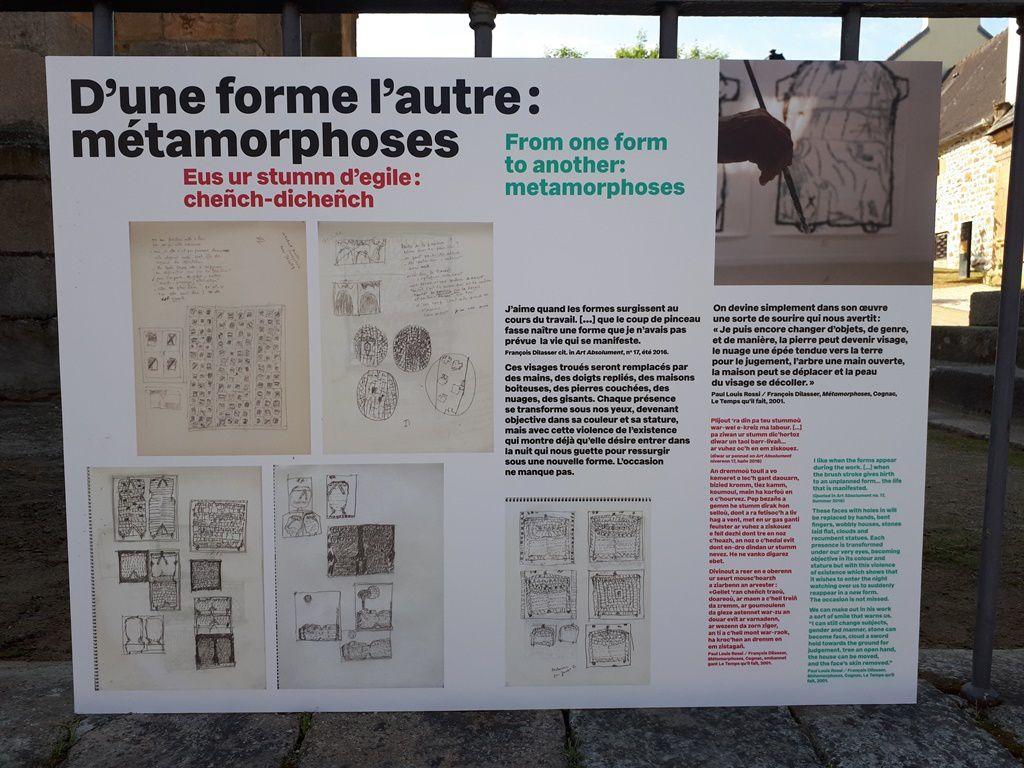 Les paysages de François Dilasser à Landerneau