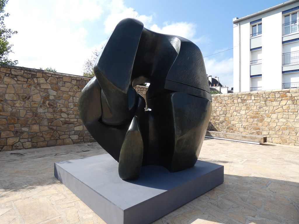 Locking piece, 1962-63, bronze