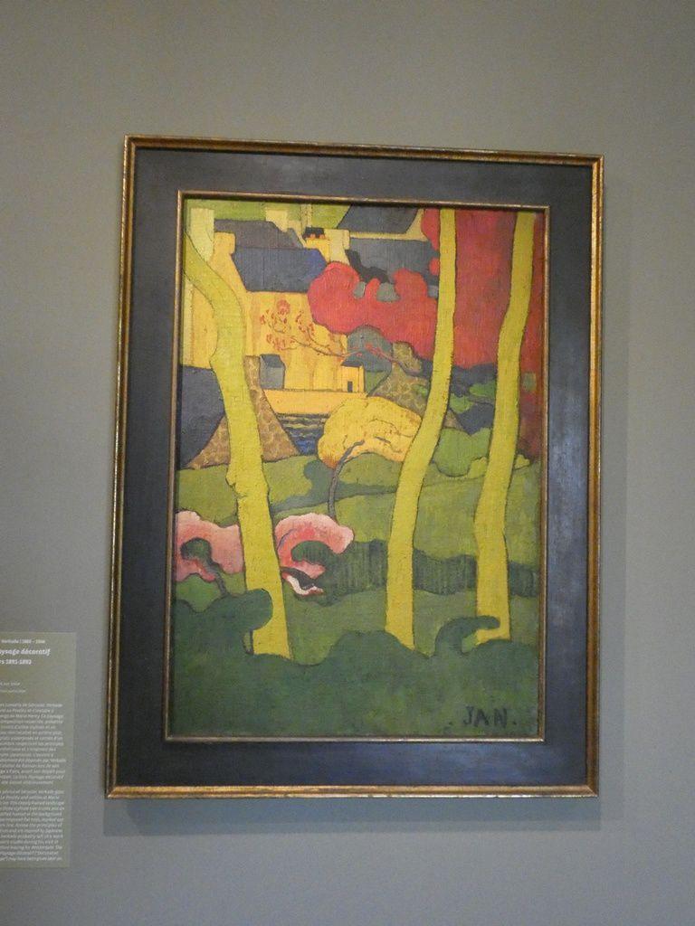Paysage décoratif - Jean Verkade