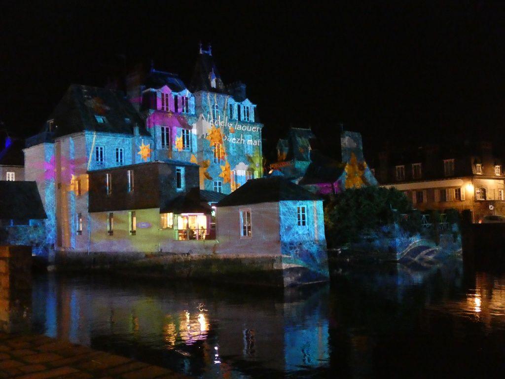 Nuit d'hiver à Landerneau
