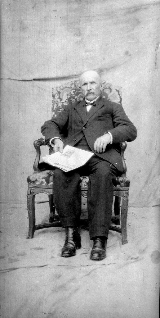 Mon arrière grand-père, père de mon grand-père maternel, Jean-Baptiste, Marie Lebreton