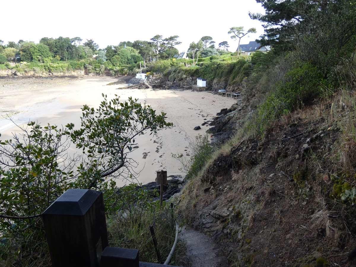Sentier côtier à Saint Briac