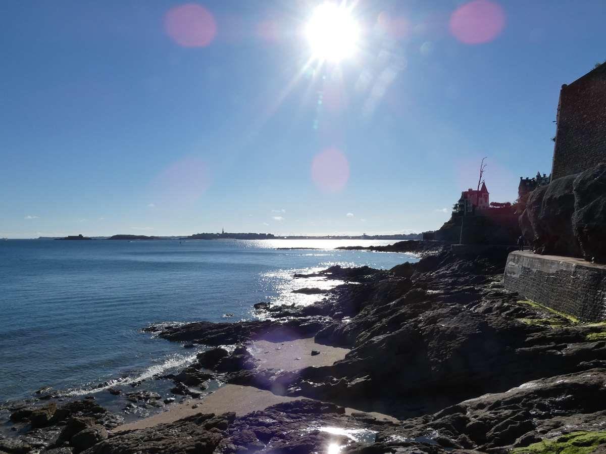 Promenade de la plage de l'Ecluse à celle de Port-Blanc