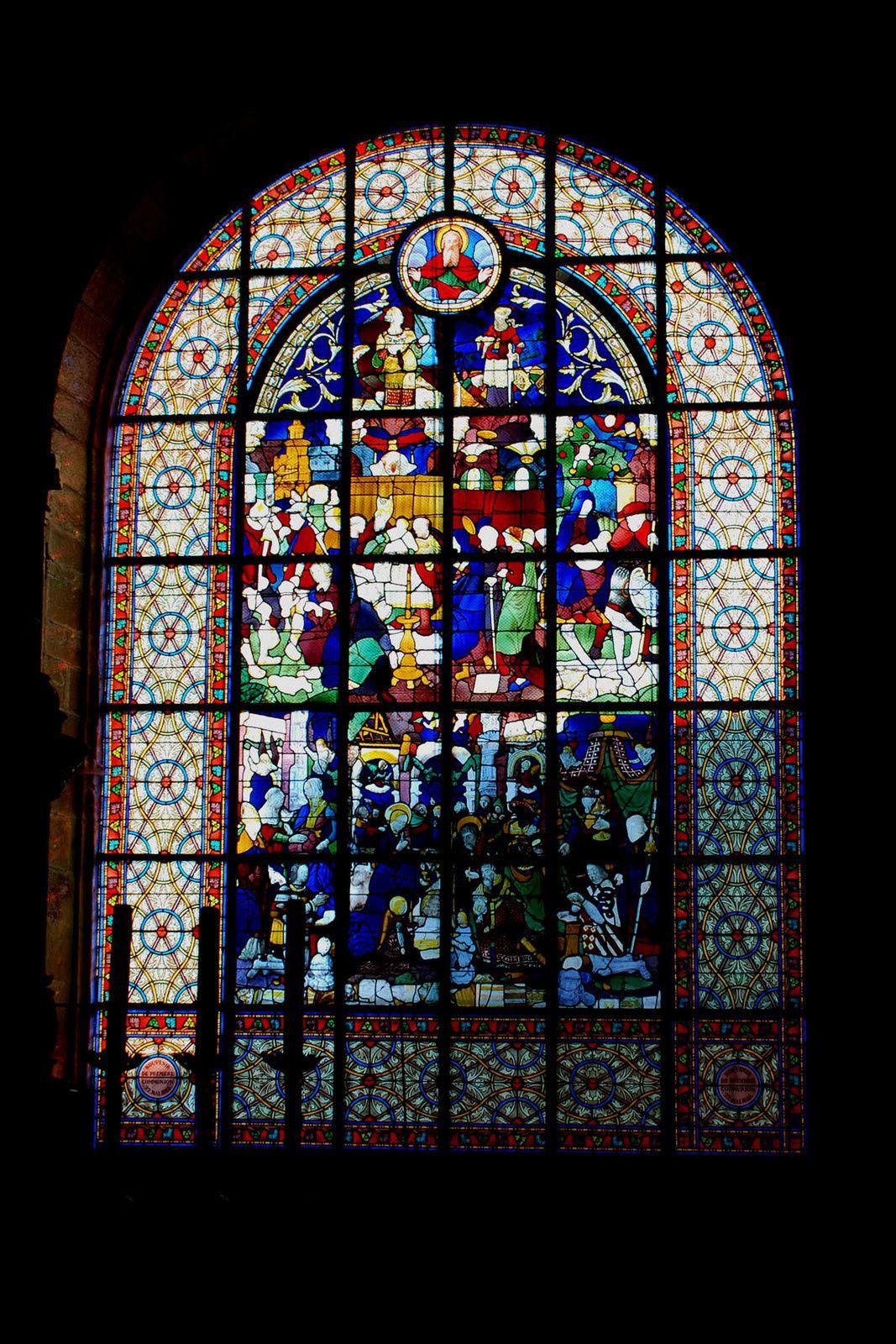 L'enfance du Christ - Eglise St Mathurin à Moncontour