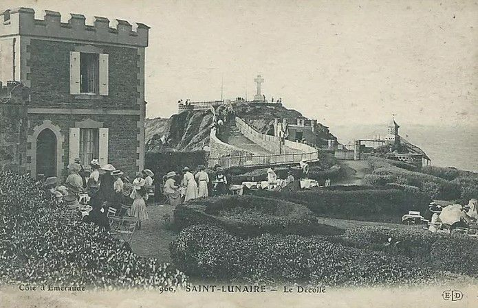 Quelques cartes postales illustrant le tea-garden d'autrefois....