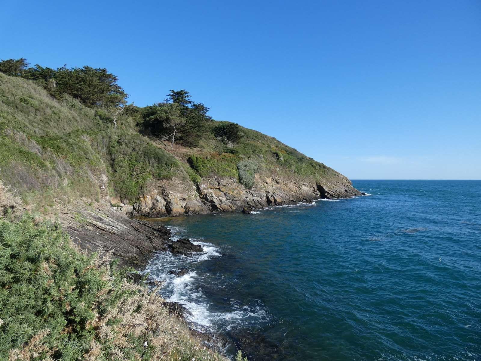 De la plage de la Touesse à l'île Besnard