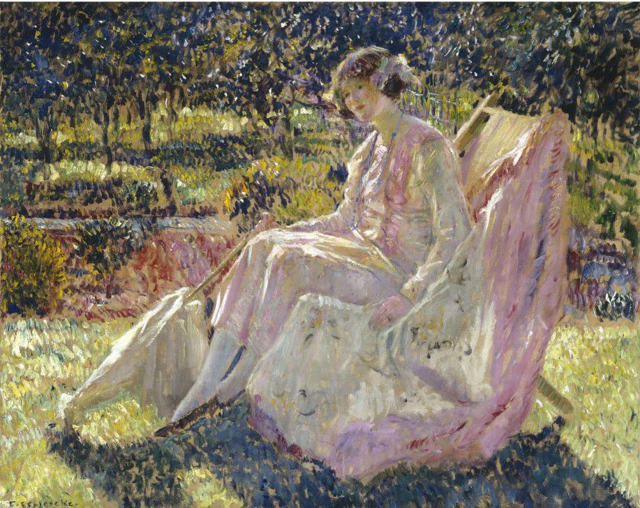 Sunbath - F.C. Frieseke