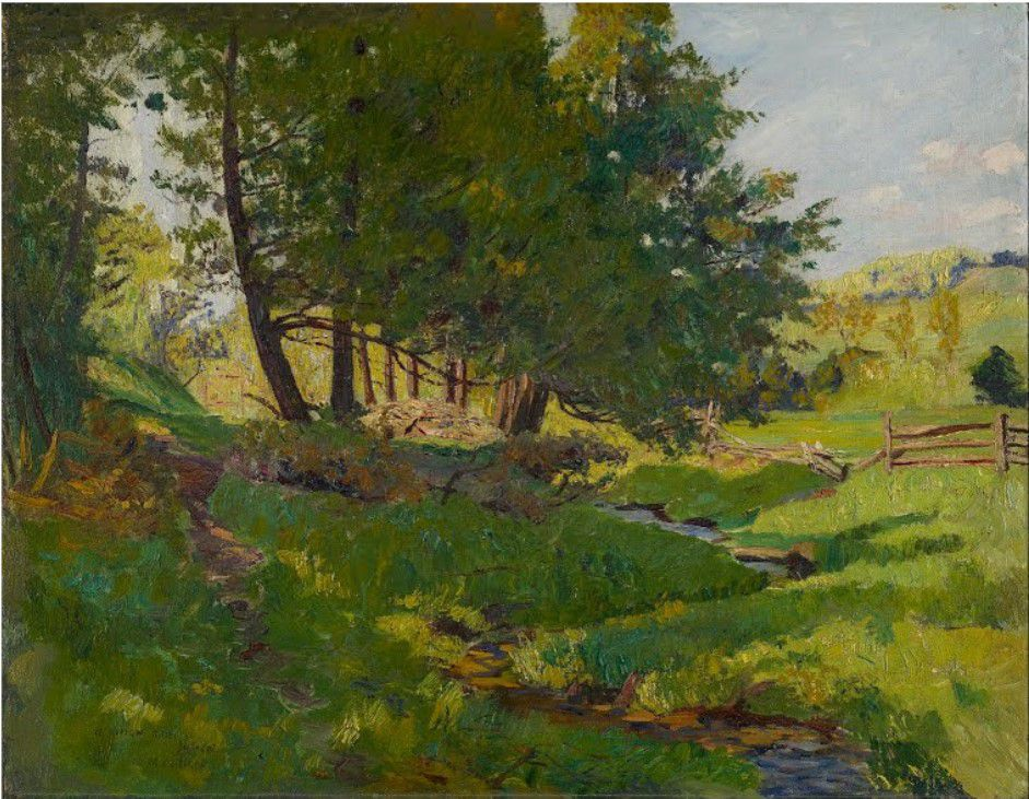 Summer near Beaupré - Maurice Cullen